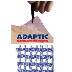 "Systagenix Adaptic Non Adhering Dressing, Sterile 5"" x 9"""