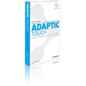 """Adaptic Touch Non Adhering Silicone Dressing 3"""" x 2"""""""