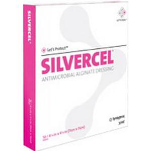 "Systagenix Silvercel Antimicrobial Alginate Dressing 2"" x 2"""