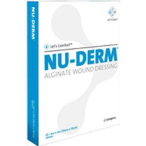 "Systagenix Nu-Derm Alginate Wound Dressing 1"" x 12"" Rope"