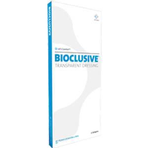 "Systagenix Wound Management Bioclusive Plus Transparent Film Dressing 4"" x 4-3/4"""