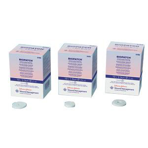 """Biopatch Antimicrobial Dressing 3/4"""" Disk, 1-1/2mm, Sterile"""