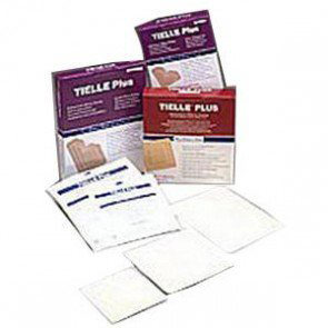 "Tielle Plus Heel Hydropolymer Adhesive, 8"" X 10"""
