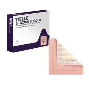Systagenix Tielle Essential Border Adhesive Foam Dressing, 7-7/8 x 7-7/8 Inch