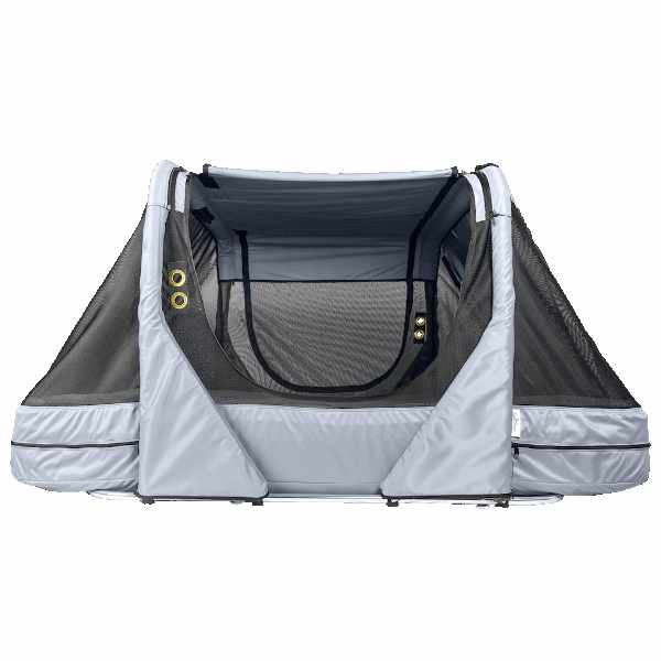 The Safety Sleeper enclosed canopy bed