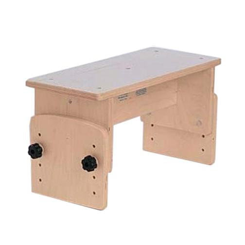TherAdapt adjustable straddle bench
