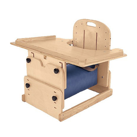 TherAdapt bolster chair with tray - Early intervention