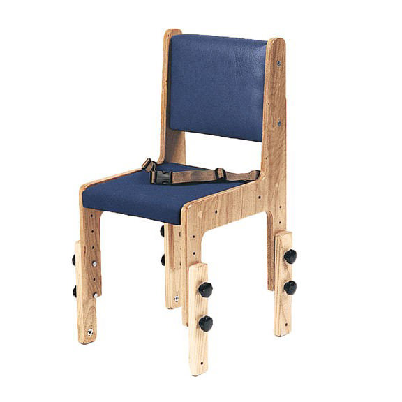 TherAdapt school chair with flat seat - Wide