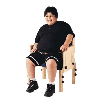 Theradapt School Chair With Flat Seat - Medicaleshop