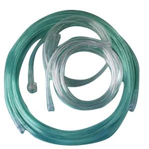 Teleflex Oxygen Green Tint S.L. Tubing with Standard Connector, 50 ft