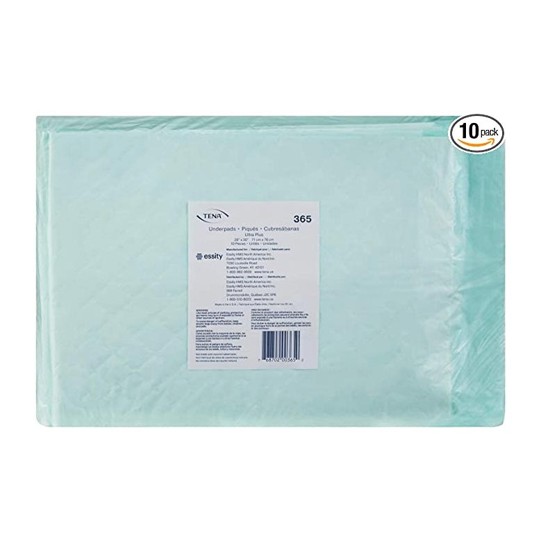 "Tena Ultra Plus Absorbency Underpad, 28"" x 30"""