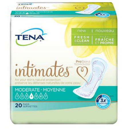 """Tena Serenity Moderate Absorbency Pads, 11"""""""