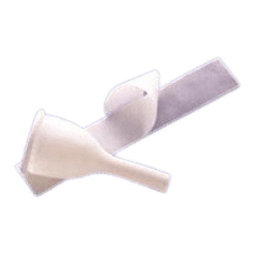Teleflex Golden-Drain Latex One-Piece Male External Catheter with Foam Strap, Medium