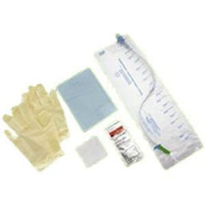 Teleflex MMG Closed System Intermittent Catheter Custom Kit, Latex-free Sterile Straight 14Fr