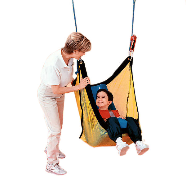 Tumble Forms Net Swing With Feeder Positioning Seat For Vestibulator
