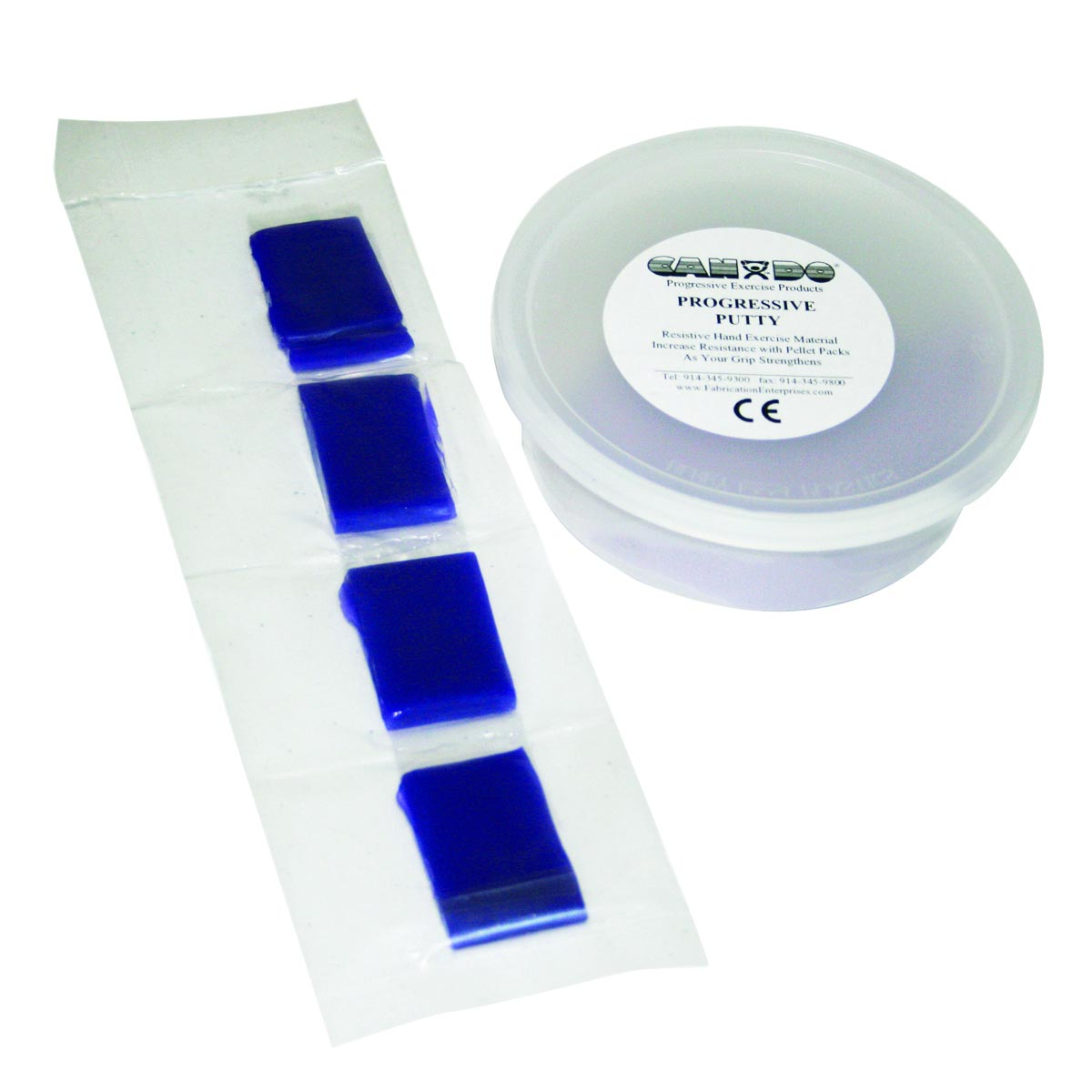 CanDo Variable Strength Theraputty Exercise Material