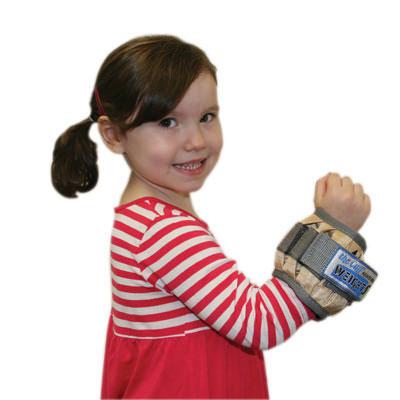 The Cuff Adjustable Cuff Pediatric Ankle/Wrist Weight, Tan