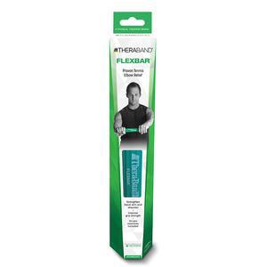 TheraBand FlexBar Hand Exerciser, Intermediate, Green