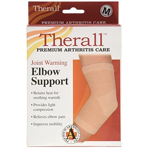 Therall Joint Warming Elbow Support Beige