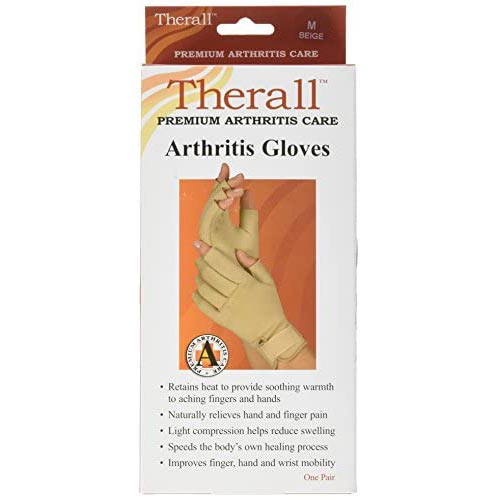Therall Arthritis Gloves Beige