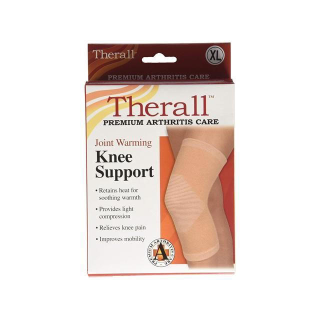 Therall Joint Warming Knee Support Beige