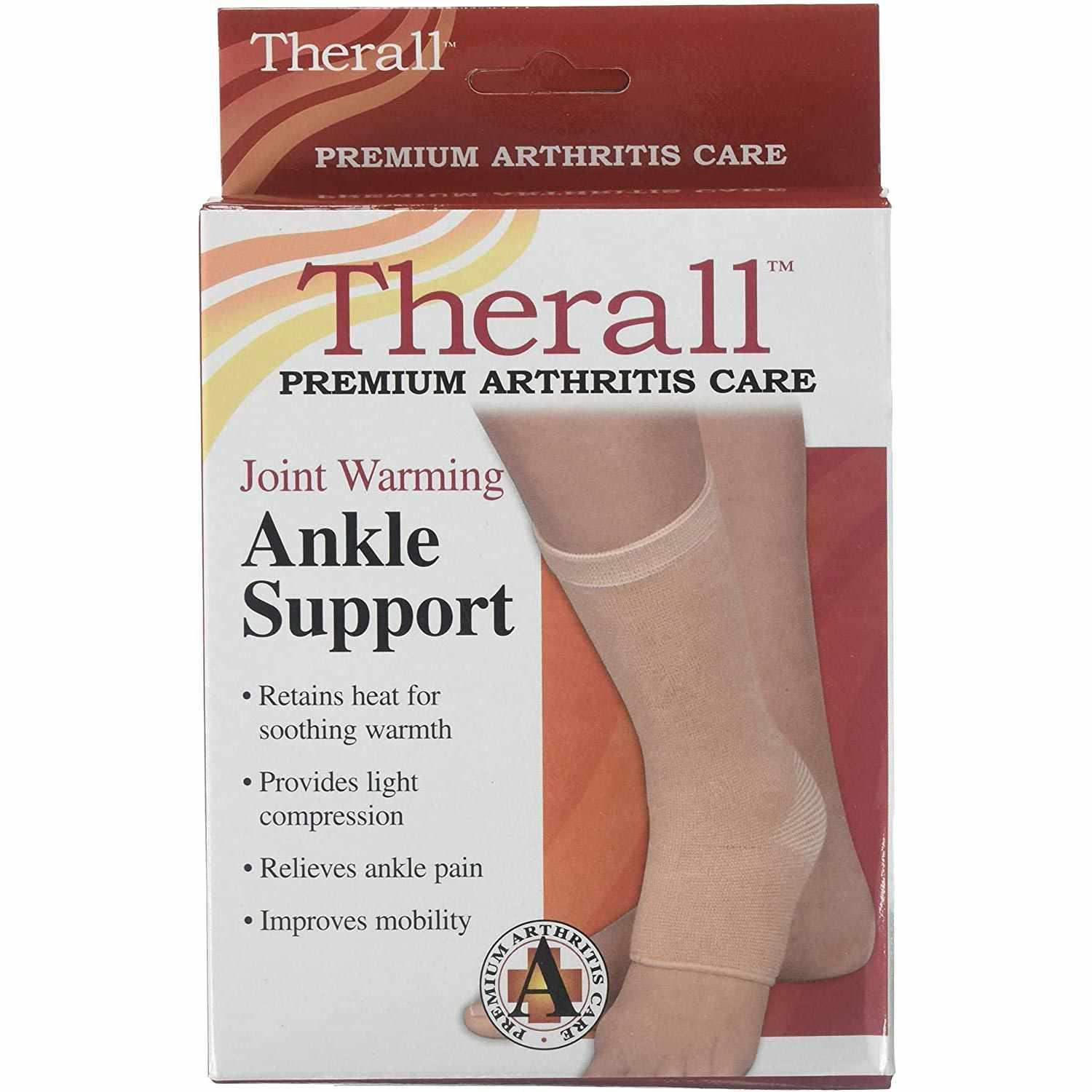 Therall Joint Warming Ankle Support Beige