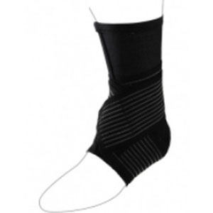 Active Ankle 329 Compression Sleeve, Black