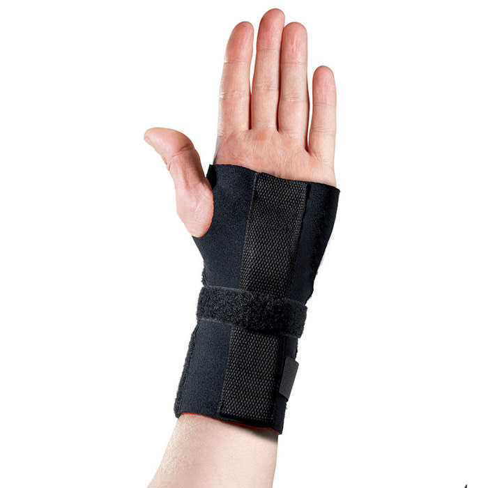 Thermoskin Adjustable Wrist Hand Brace, Left, Black, One Size