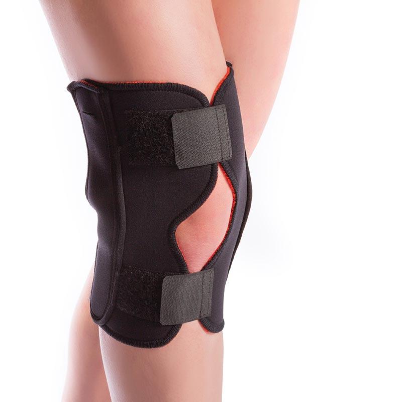 Thermoskin Arthritic Hinged Knee Wrap Black