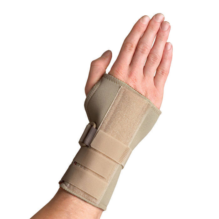 Thermoskin Carpal Tunnel Brace with Dorsal Stay, Beige