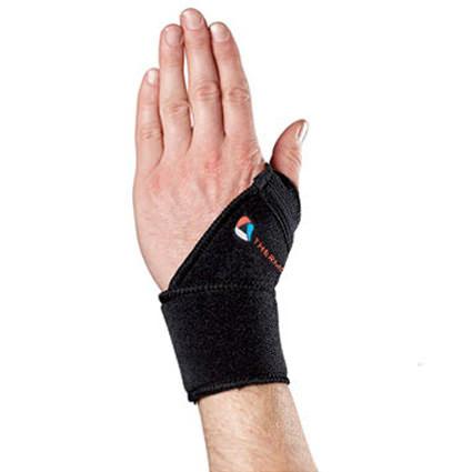 Thermoskin Sport Wrist Wrap, Black, One Size