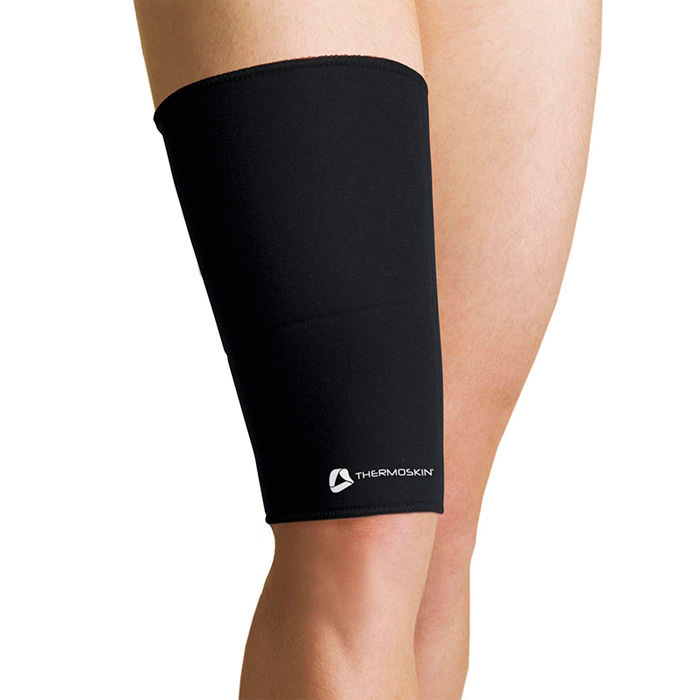 Thermoskin Thigh Hamstring, Black, Extra-Small