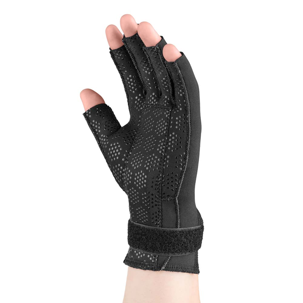 Thermoskin Carpal Tunnel Glove, Left, Black, Extra Small