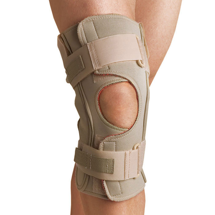 Thermoskin Hinged Knee Wrap ROM, Beige, Extra Small