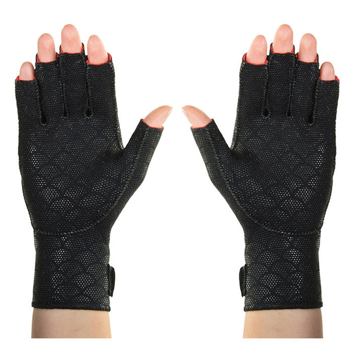 Thermoskin Premium Arthritis Gloves, Black, Small