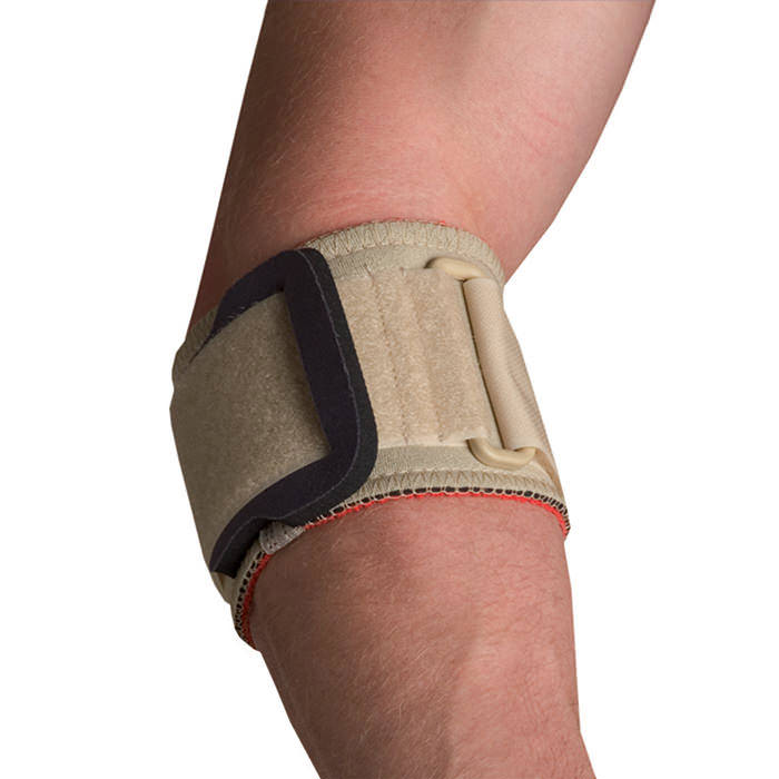 Thermoskin Tennis Elbow Strap w/ pad, Beige, Small