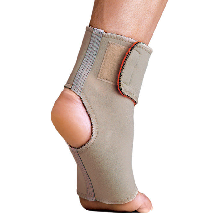 Thermoskin Ankle Wrap, Beige, Medium