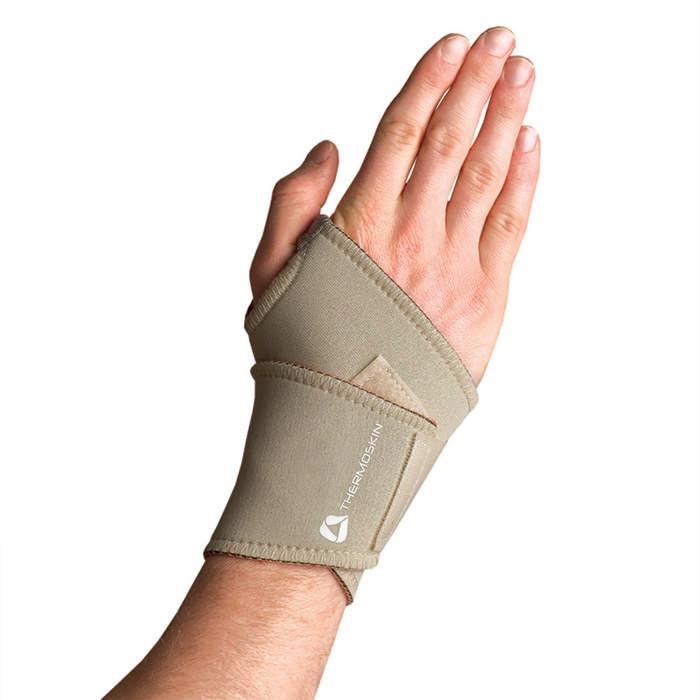 Thermoskin Univ Wrist Wrap, Beige, Small/Medium