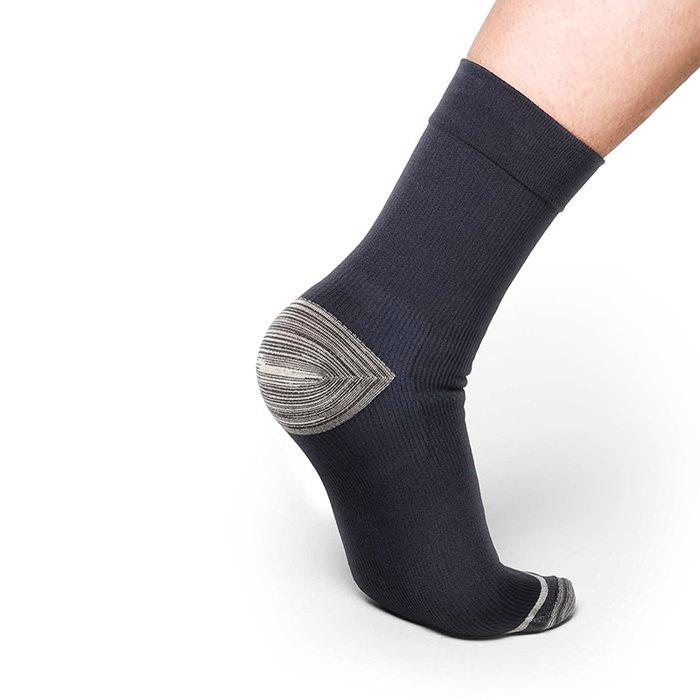 Thermoskin FXT Compression Socks, Crew, Black, Medium