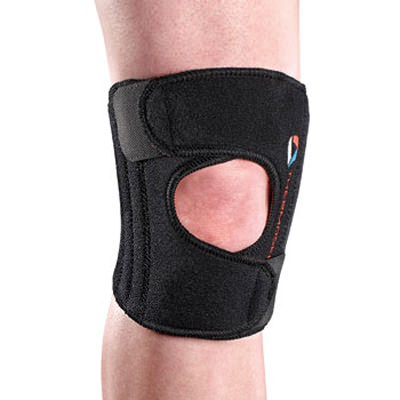 Thermoskin Sport Knee Stabilizer, Black, Small/Medium