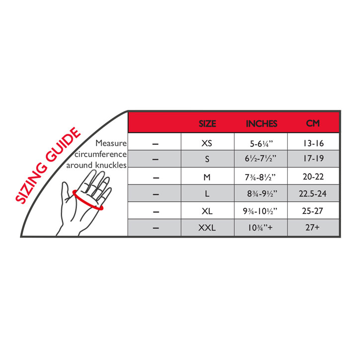 Thermoskin Cross-X CMC Thumb Splint, Left, Black, Large