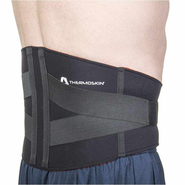 Thermoskin Lumbar Support, Black, Large