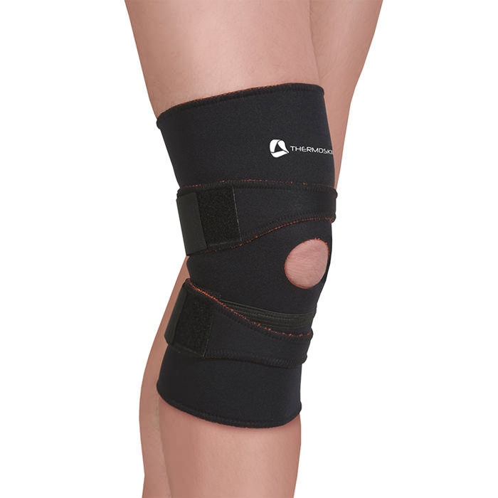 Thermoskin Patella Tracking Stabilizer, Black, Large