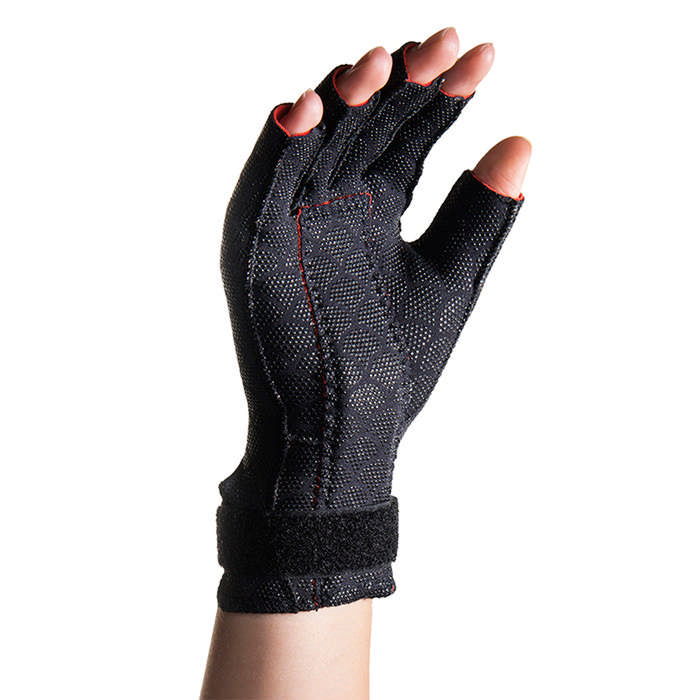 Thermoskin Carpal Tunnel Glove, Right, Black, Large