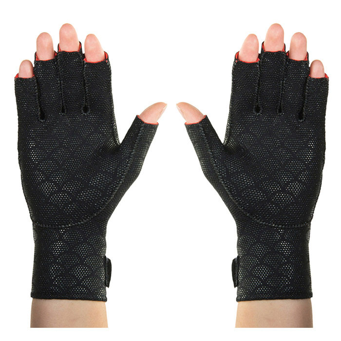 Thermoskin Premium Arthritis Gloves, Black, Large