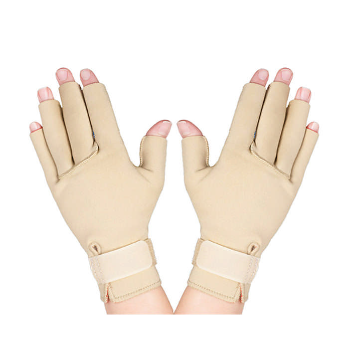 Thermoskin Therall Arthritis Gloves, Beige, Large