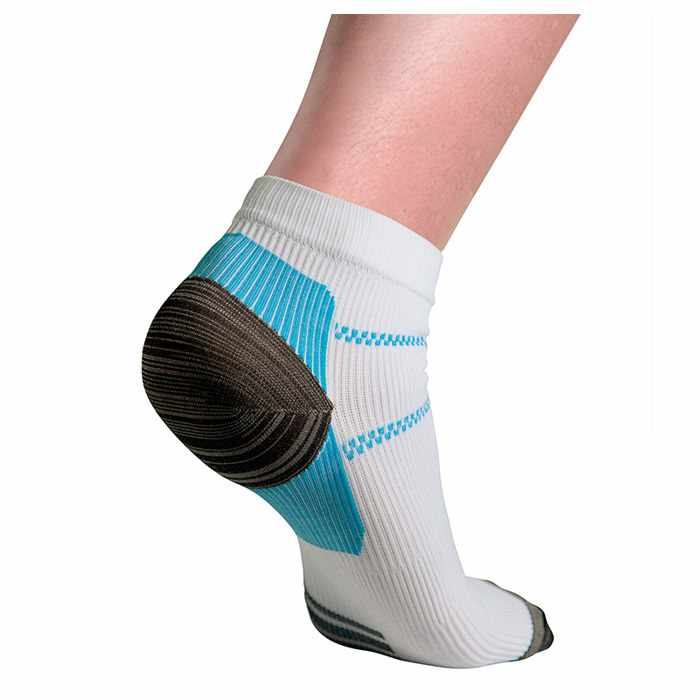 Thermoskin FXT Compression Socks, Ankle, White, Large