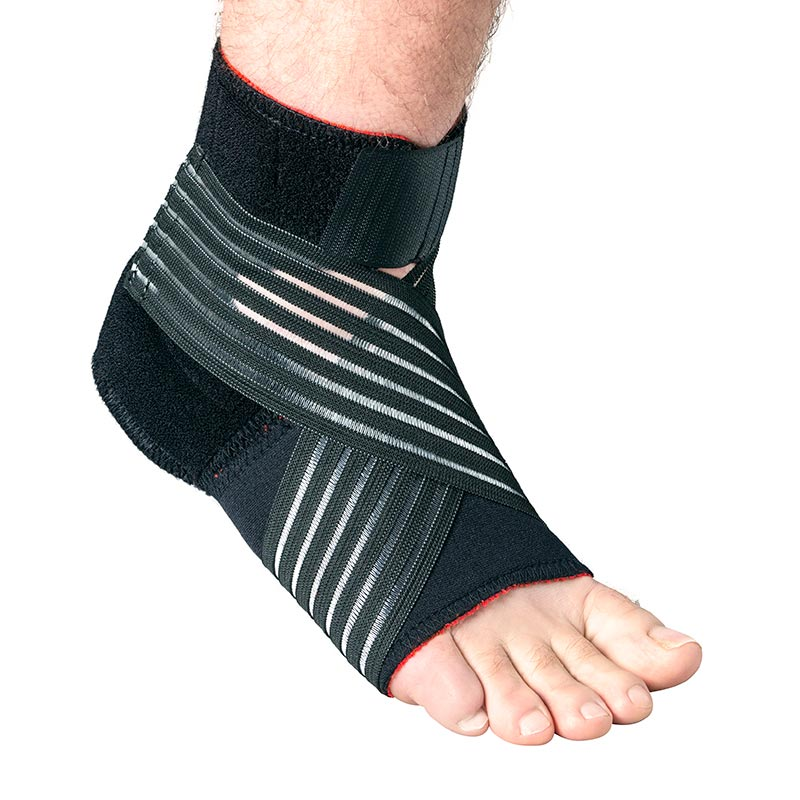 Thermoskin Foot Stabilizer, Black, Extra Large