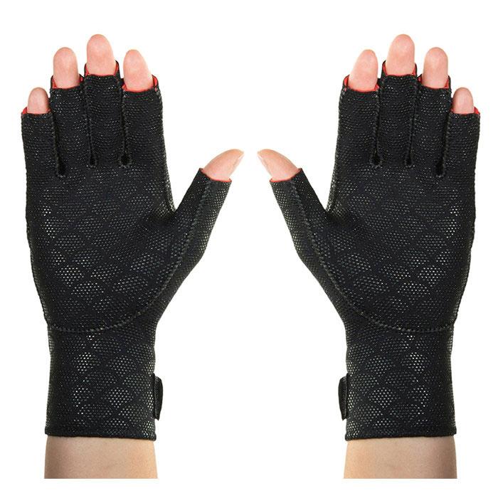 Thermoskin Premium Arthritis Gloves, Black, Extra Large
