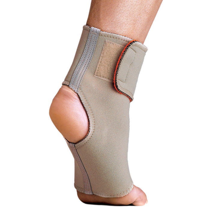 Thermoskin Ankle Wrap, Beige, Extra Large